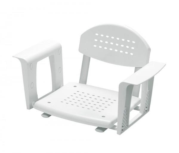 Profilo Comfort Badewannensitz breitenverstellbar mit Rückenlehne