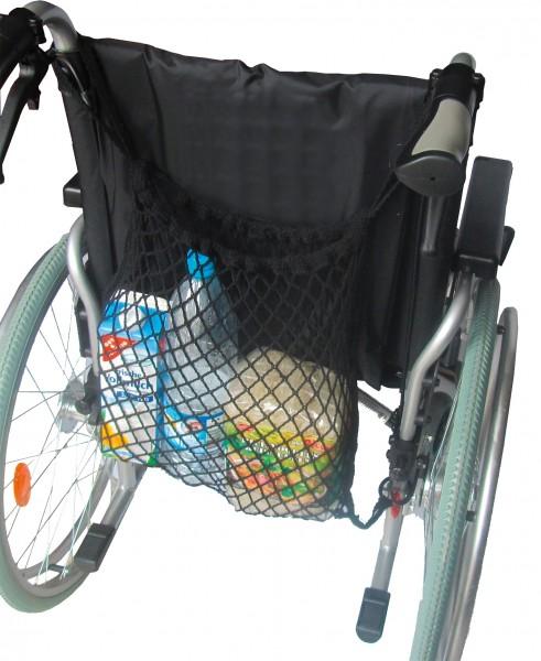 Rollstuhlnetz schwarz
