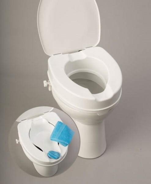 Bidet zum Toilettensitzerhöher