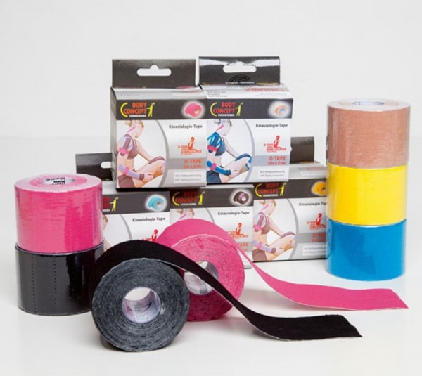 Body Concept Kinesiologisches D-Tape Rolle à 5 m